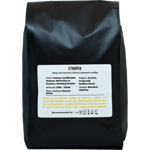 ETHIOPIA WALICHU WACHU 1KG | NATURAL DRIED