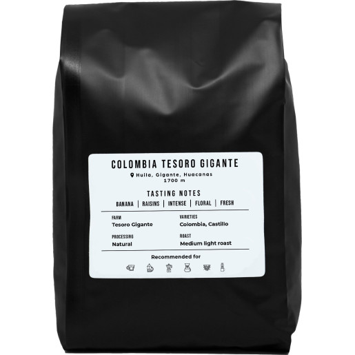 Colombia Tesoro Gigante 1 kg | Natural