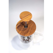 Olive Wood French Press
