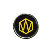 Meron Yellow Logo Pin