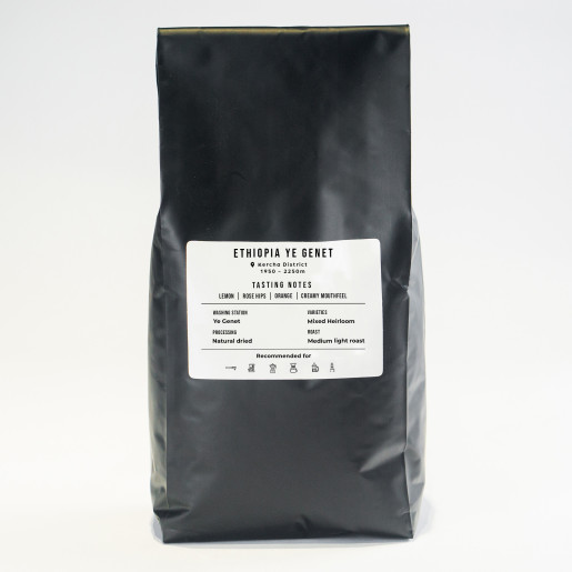 Cafea Ethiopia Ye Genet 1 Kg | Natural Uscată